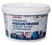 Краска для пола серая Aquastrong NEVEL SILVER 2 кг